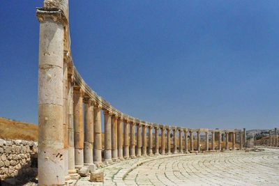 Jarash Roman City in Jordan