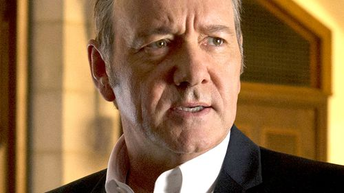 Kevin Spacey, now 58, stars in House of Cards.