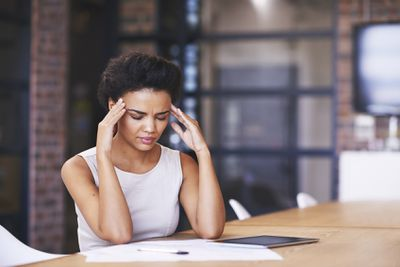 <strong>They deal with stress better at work</strong>