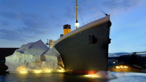 The Titanic Museum Attraction in Pigeon Forge, Tennessee.