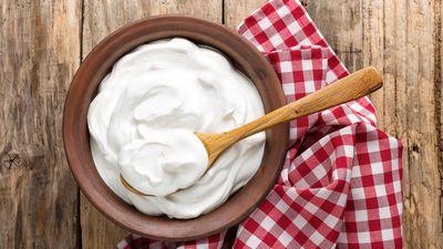 <strong>Less calories: Greek Yoghurt</strong>