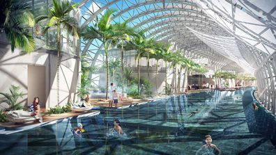 Raffles City Chonqing rendering of kids pool