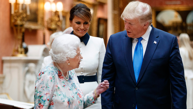 Donald Trump meets the Queen