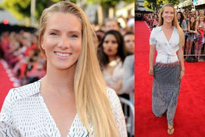 <i>Glee</i> star Heather Morris also made an appearance.<br/><br/>