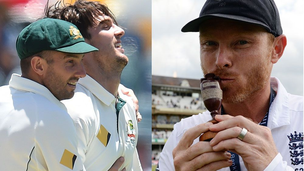 Ian Bell (right) has offered to help the Marsh brothers. (AAP)