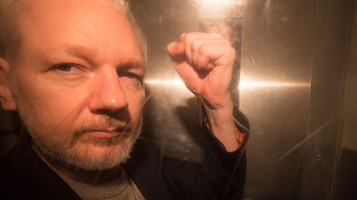 Julian Assange's father visits son in United Kingdom  prison