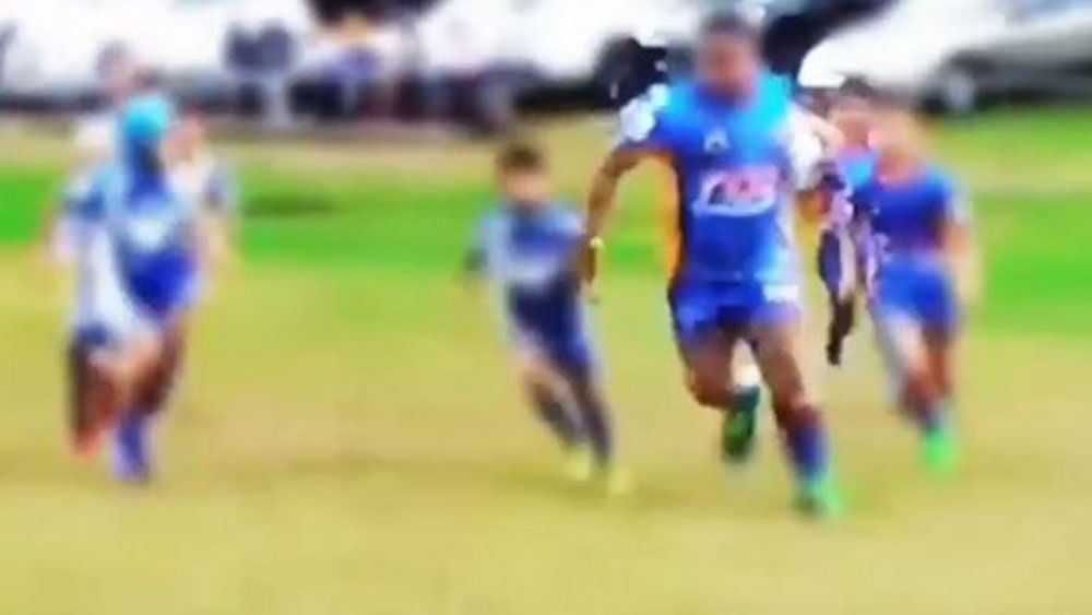 Canterbury Bulldogs Under 8s gentle giant to sit out rugby league game over social media backlash