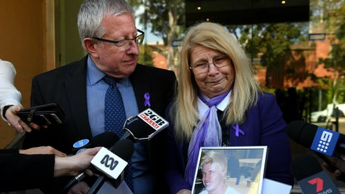 "Mark and Faye Leveson say Matt's funeral will a ""celebration of his life"". (AAP)"