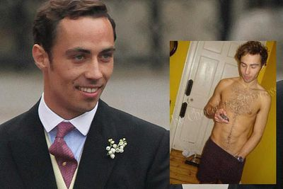 Mm nothing screams royal brother-in-law quite like pretending to be a lawyer to get your embarrassing nude pics off the Internet. In May, just one week after his older sister Kate's wedding to Prince William, photos surfaced of James Middleton flashing his bare butt, dressing in drag and simulating gay sex acts with mates. The one thing more embarrassing than the photos was him posing as a lawyer online to have them taken down… and then getting caught out. Well played, James, Well played.