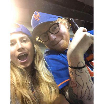 Cherry Seaborn and Ed Sheeran