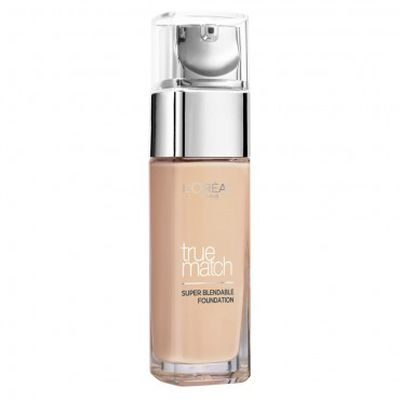 "Exact Match -&nbsp;<a href=""https://www.priceline.com.au/l-oreal-paris-true-match-foundation-30-ml"" target=""_blank"" draggable=""false"">L'Oreal Paris True Match Foundation 30ml, $29.95</a>"