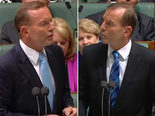 Tony Abbott takes on himself in this satirical video.