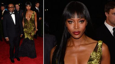 British supermodel and actress Naomi Campbell with Empire co-star Lee Daniels. (AAP)