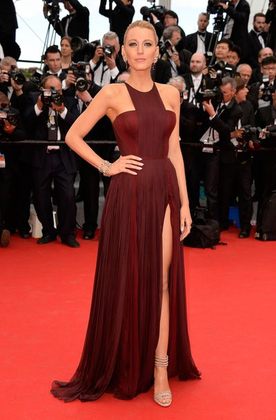 Blake Lively in Gucci at the <em>Grace of Monaco</em> Premiere during the 67th Annual Cannes Film Festival in May 14, 2014