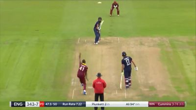 Moeen Ali smashes ton as England beat West Indies