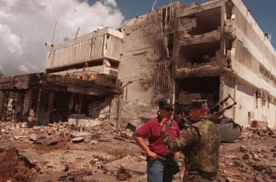 Al Qaeda bombing of US embassy 1998