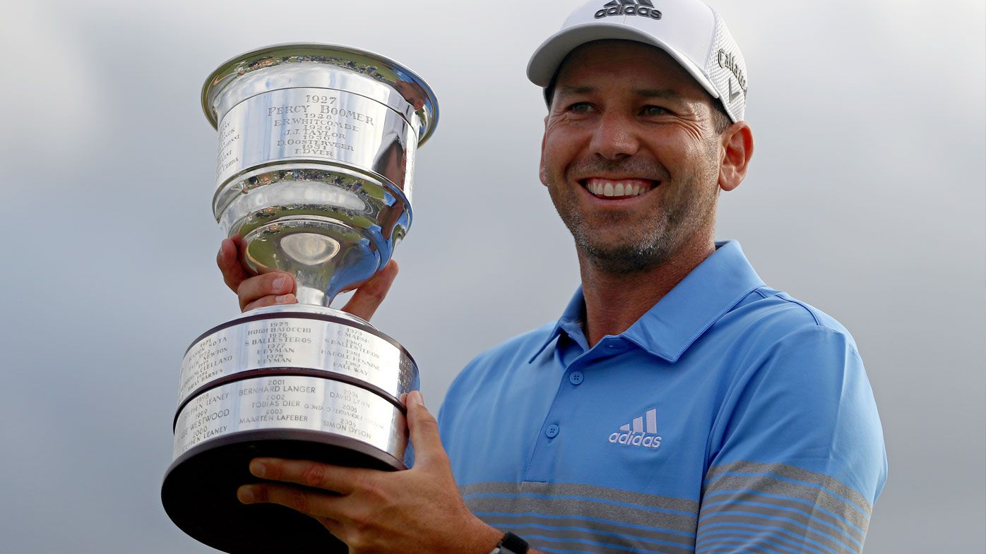 Golf: Sergio Garcia to play Australian Open