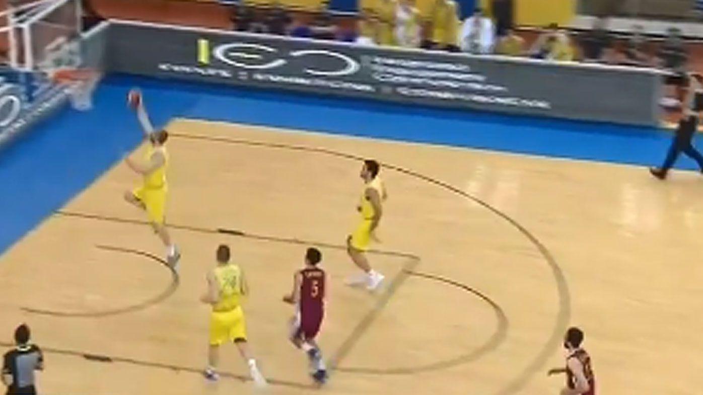 Australian Boomers smash Qatar in FIBA World Cup qualifier