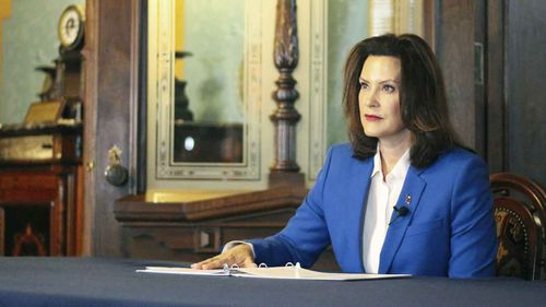 Gretchen Whitmer is the governor of Michigan.