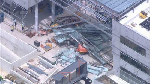 Curtin University wall ceiling collapse