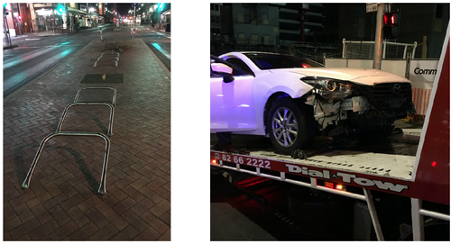 Drink driver charged after Adelaide CBD rampage