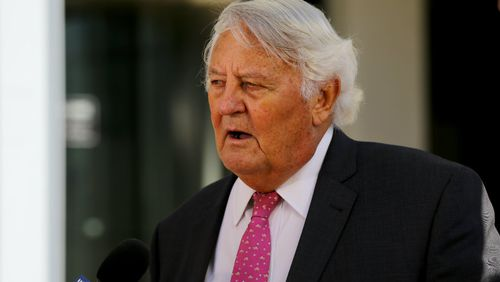 Counsel assisting the Coroner Ken Fleming. Picture: AAP