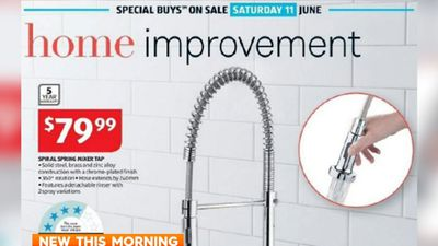 New tests show Aldi tap contains dangerous lead levels