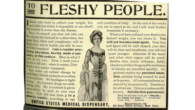 """<strong>10. Mystery remedy for """"Fleshy People""""</strong>"""
