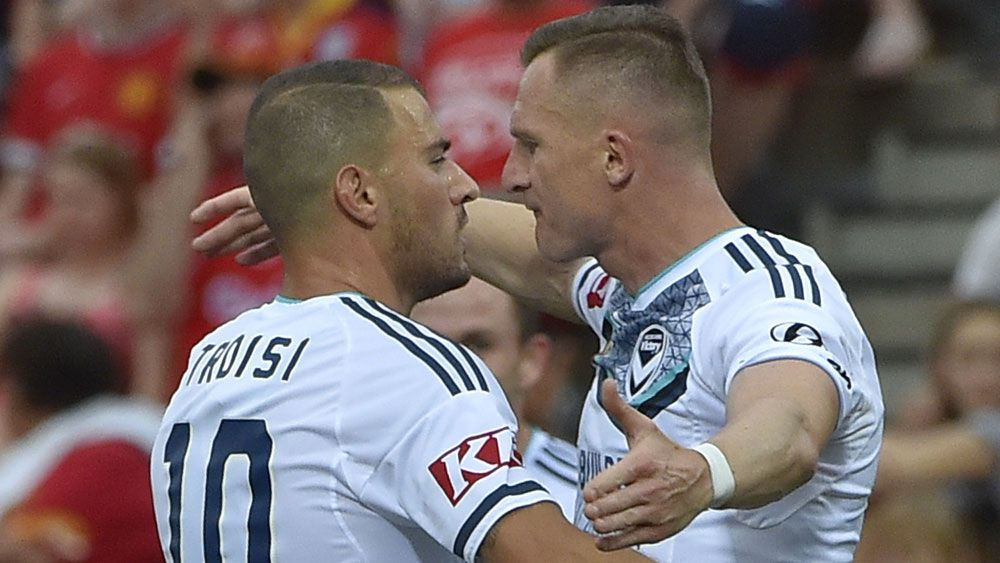 Victory coach Muscat applauds in-form James Troisi