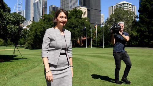 Gladys Berejiklian visits NSW governor after win