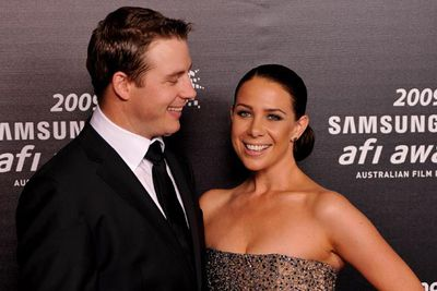 Former <i>Home and Away</i> star Kate Ritchie married ex-NRL player Stuart Webb at a low-key ceremony in Tasmania this year.<br/>