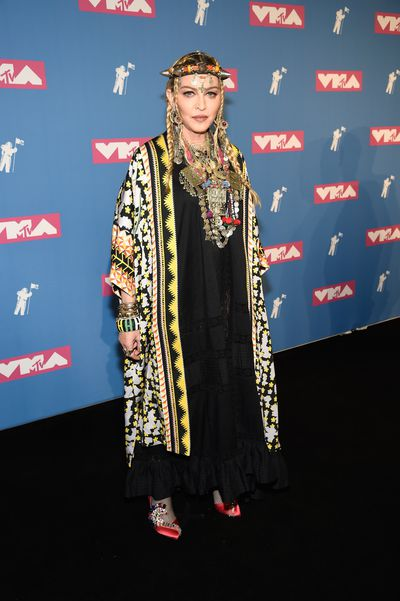Madonna at the 2018 MTV Video Music Awards