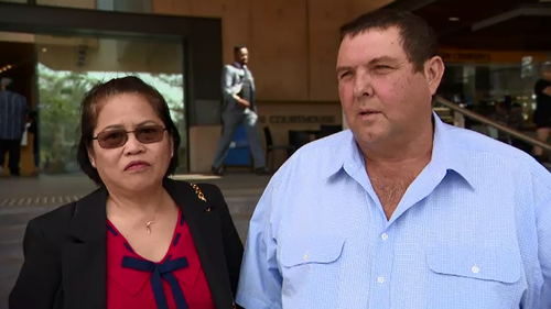 Neil and Connie Powell have been struggling to evict a man who has been living rent-free on their farm for the past six years.