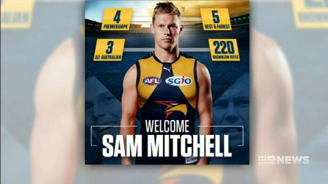 Mitchell headed West