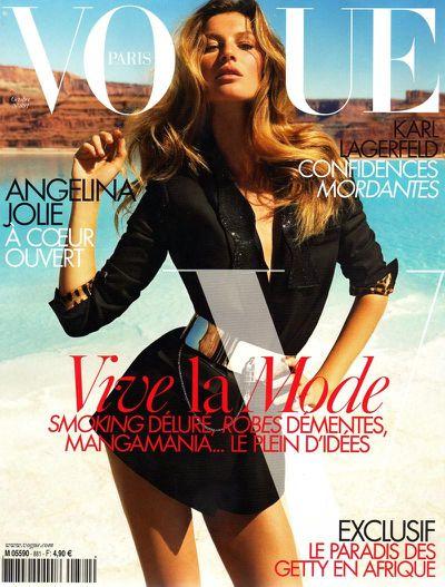 Vogue Paris October 2007 by Inez & Vinoodh