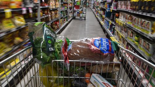 Experts said supermarkets need to clean up their act, particularly around the checkout area. (AAP file)