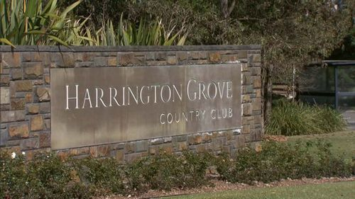 The incident occurred at the Harrington Grove Country Club in Camden. (9NEWS)
