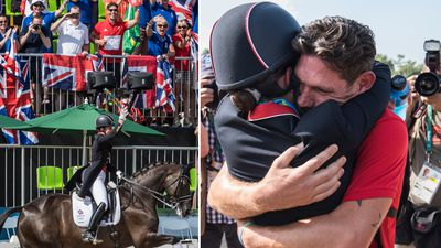 <strong>Gold medal-winning British dressage rider Charlotte Dujardin has become the latest Olympian to have her romance take centre stage at Rio, after her fianc&eacute; publicly declared his love.</strong>