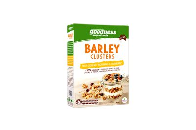 Goodness Superfoods Better for U! Barley Clusters