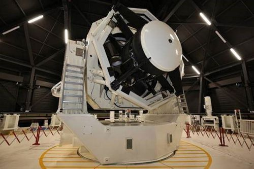 Images of space from the Space Surveillance Telescope in remote Western Australia have been captured, marking a significant milestone for the Defence space project.