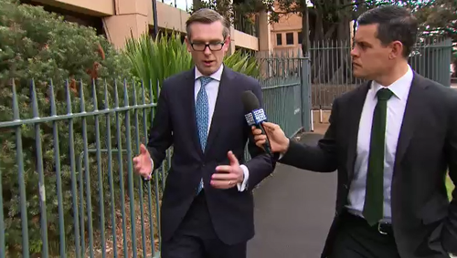 Treasurer Dominic Perrottet spoke with 9NEWS about his disappointment that a move may be causing Liberal infighting.