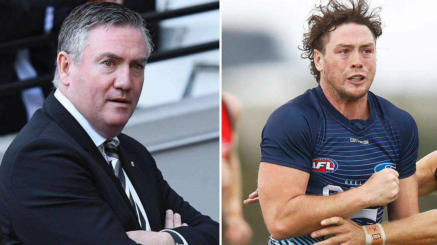 Eddie McGuire urges Geelong to reveal what happened with Jack Steven