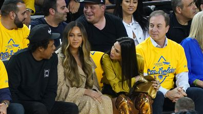 Jay-Z, Beyoncé and Nicole Curran