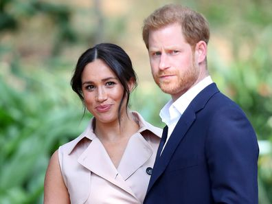 Prince Harry and Meghan Markle in Africa