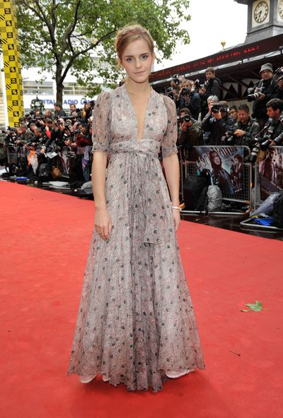 Emma Watson at the <em>Harry Potter and the Half-Blood Prince</em> film premiere in London, July, 2009