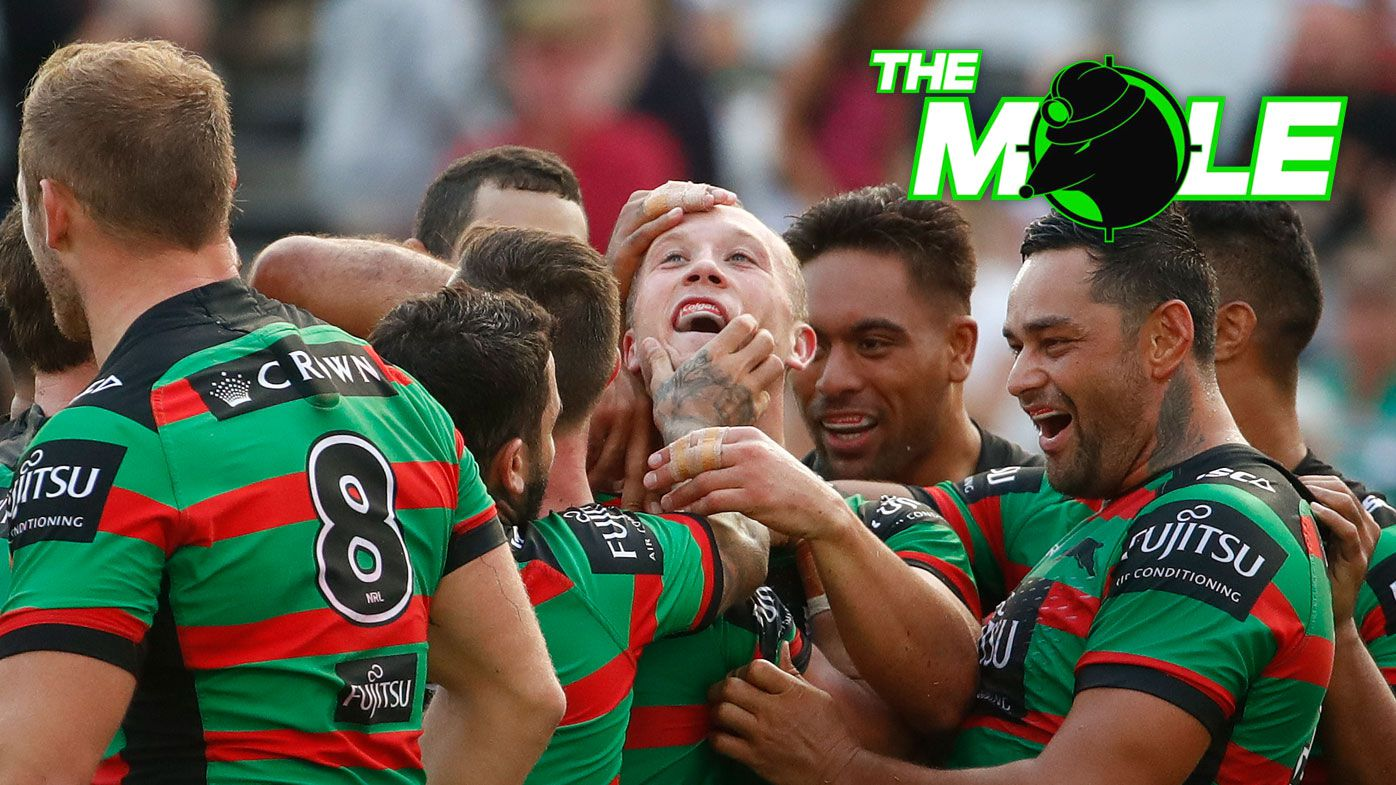 Souths forward Jason Clark is in doubt for the clash with the Roosters