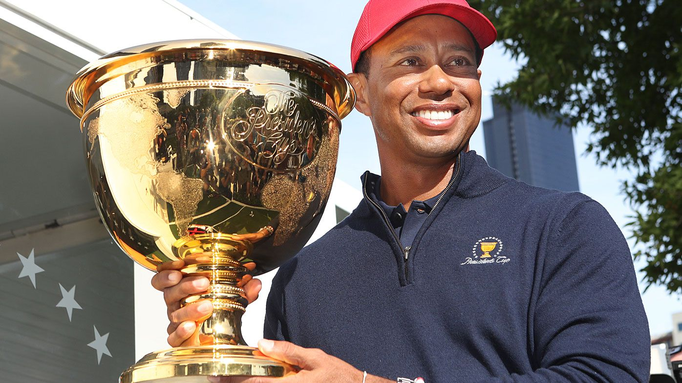 Tiger Woods on picking himself for Presidents Cup: We'll talk about it