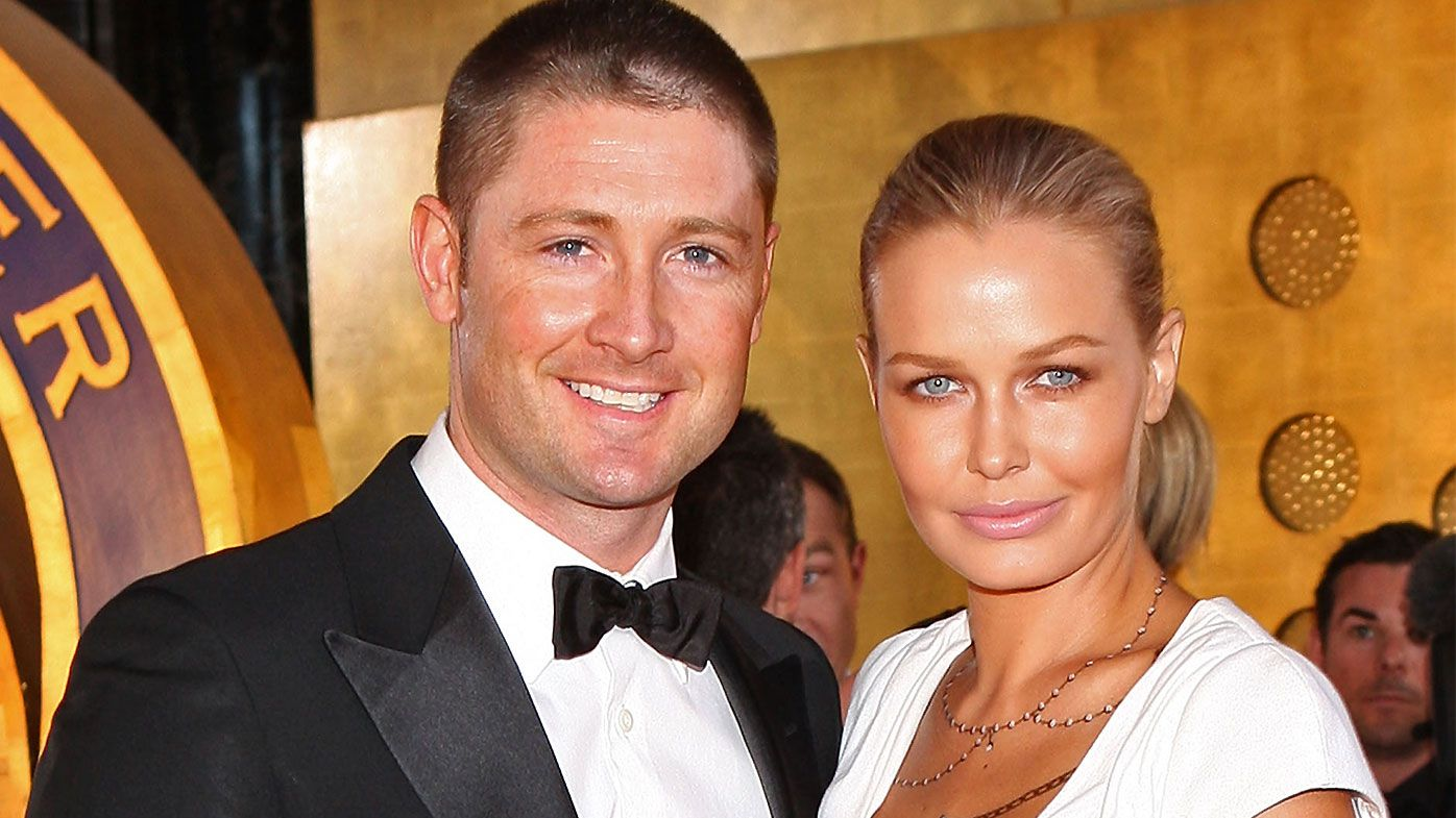Michael Clarke Lara Bingle
