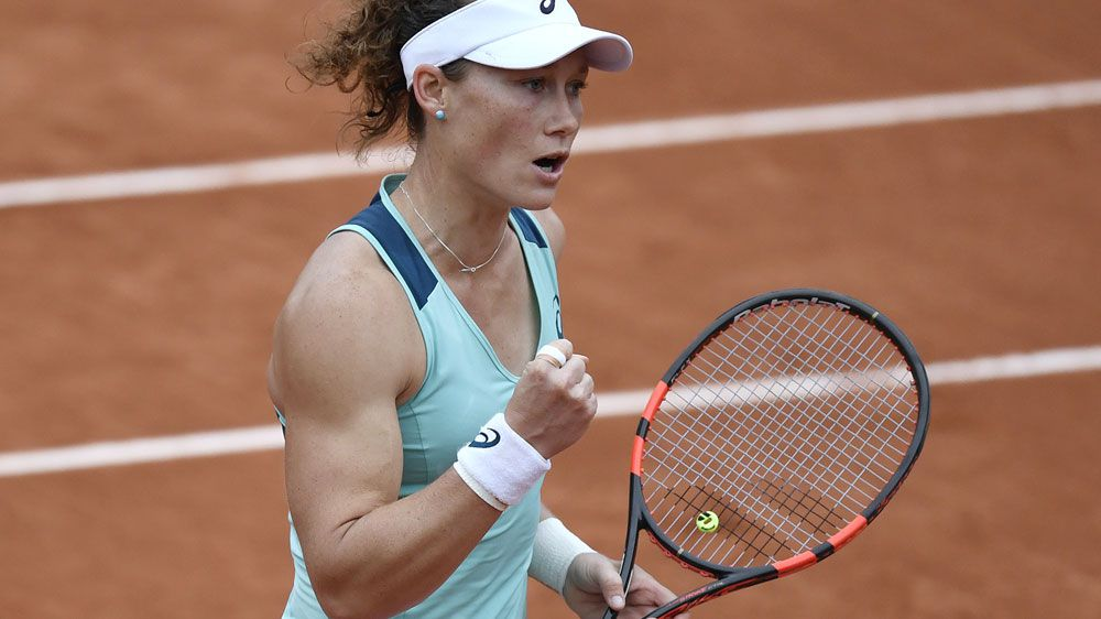 Stosur continues French Open charge