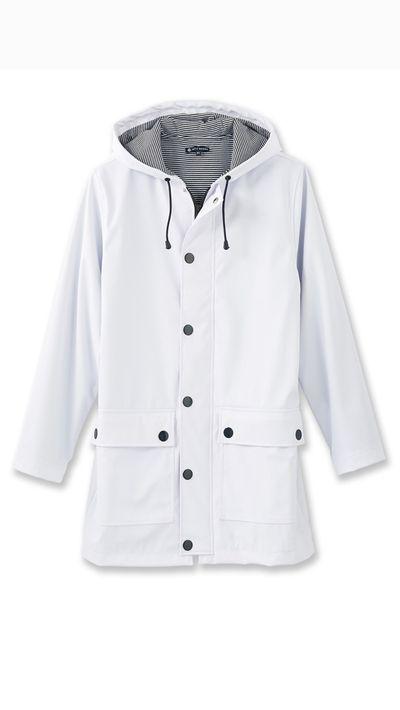 """<a href="""" http://petit-bateau.lexception.com/en/woman/ready-to-wear/coat-jacket/11425715409-01BC-Sailor-Coat-Ecume""""> Sailor Coat, $180 approx, Petit Bateau</a>"""